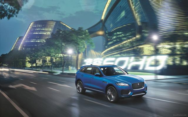 Jaguar F-Pace sẽ không ra mắt trong triển lãm VIMS 2016 như kế hoạch ban đầu. Ảnh minh họa