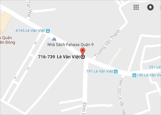 Vị trí gần nơi xảy ra tai nạn giao thông nghiêm trọng. Ảnh: Google Máp.