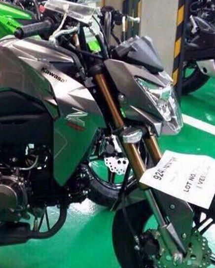 Kawasaki Z125 được mệnh danh là tiểu Z1000.