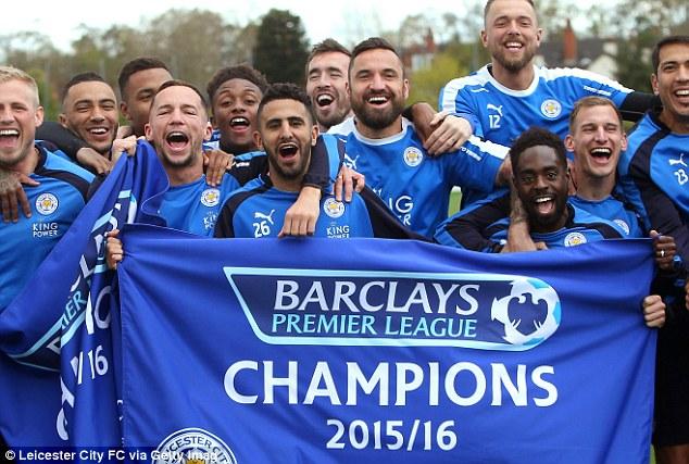 Các cầu thủ của câu lạc bộ Leicester City.