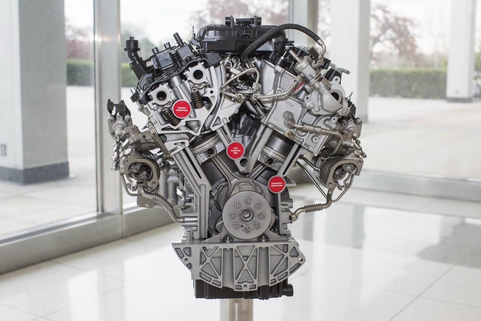 Động cơ EcoBoost V6 mới của Ford F-150 2017.