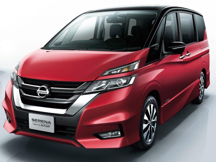 Nissan serena th h m i ra m t c nh tranh toyota innova