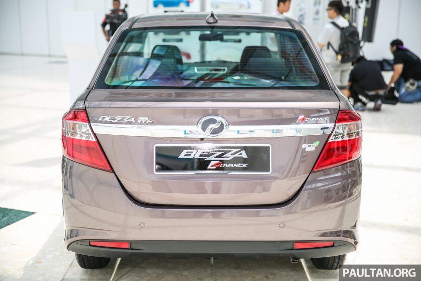 Tại thị trường Malaysia, Perodua Bezza có 5 bản trang bị khác nhau. Giá bán của mẫu sedan cạnh tranh với Honda City và Toyota Vios dao động từ 37.300 - 50.800 RM, tương đương 205 - 279 triệu Đồng. Giá bán này chắc hẳn sẽ khiến nhiều người tiêu dùng Việt Nam phát thèm.