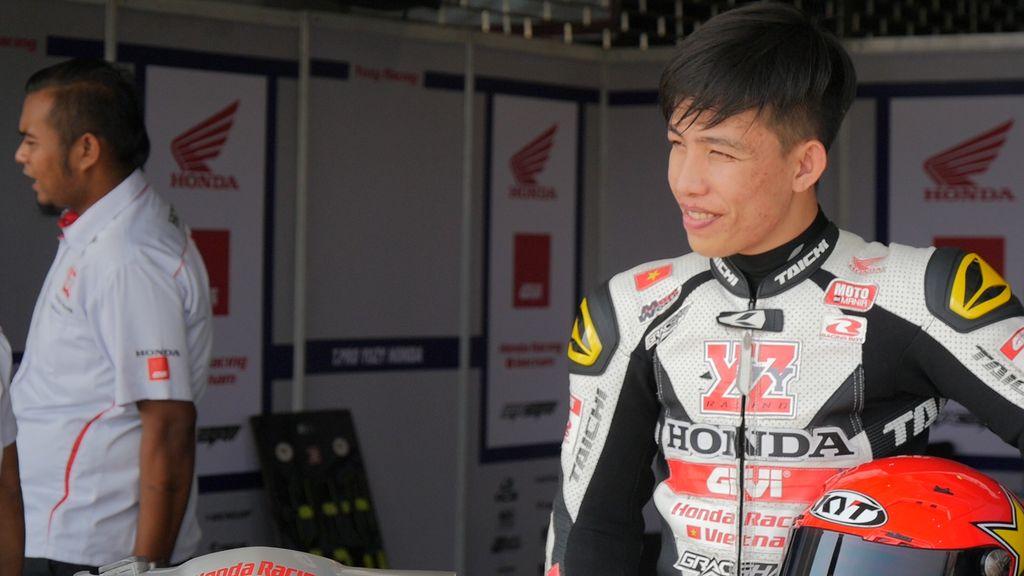 Chân dung tay đua trẻ Bùi Duy Thông. Ảnh: Honda Việt Nam