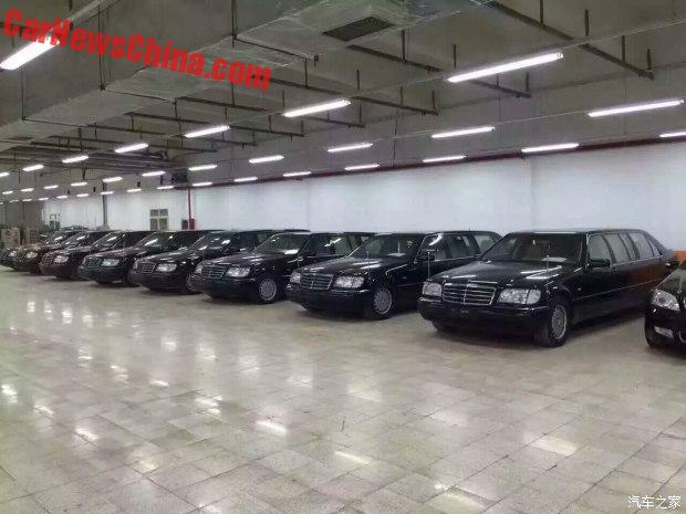 Vào hồi tháng 6/2016 vừa qua, chính quyền thành phố Thượng Hải, Trung Quốc, đã thanh lý một lô 8 xe limousine cũ mang nhãn hiệu Mercedes-Benz S500L Pullman W140. Đến nay, 1 trong 8 chiếc xe limousine này đã được bán cho một đại lý ô tô cũ ở thành phố Trường Xuân, tỉnh Cát Lâm, Trung Quốc.