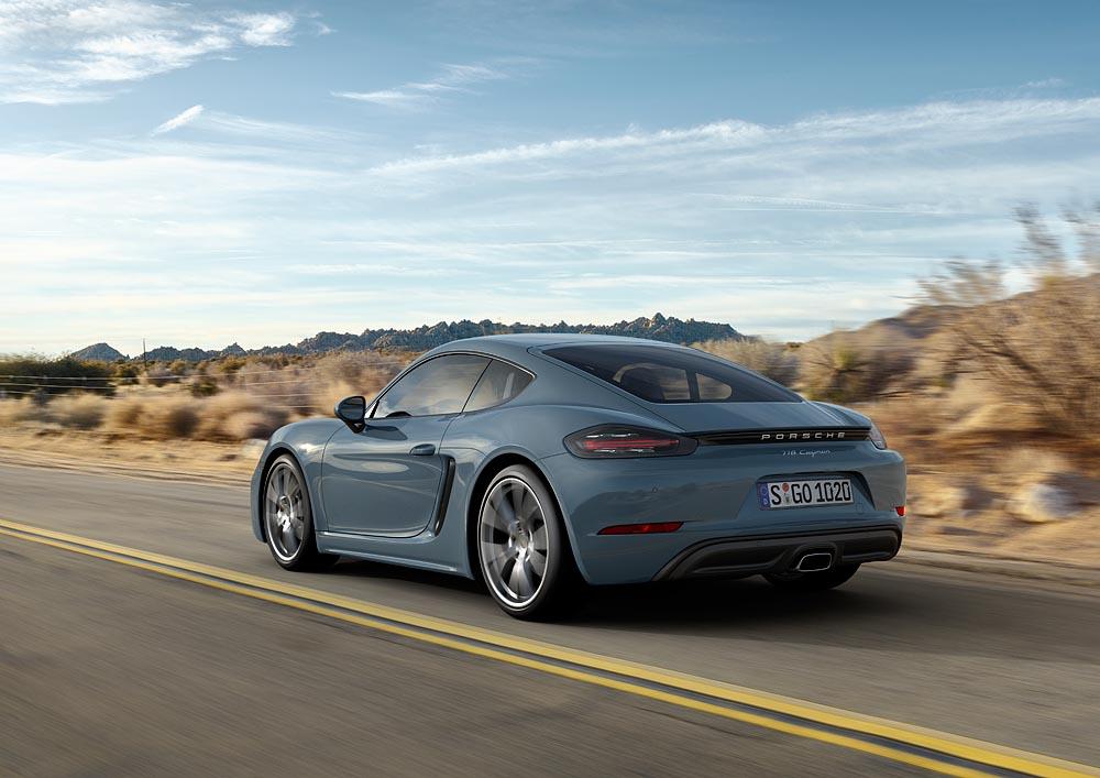 Tính năng vận hành của Porsche 718 Cayman cũng được nâng cao hơn ở thế hệ mới.