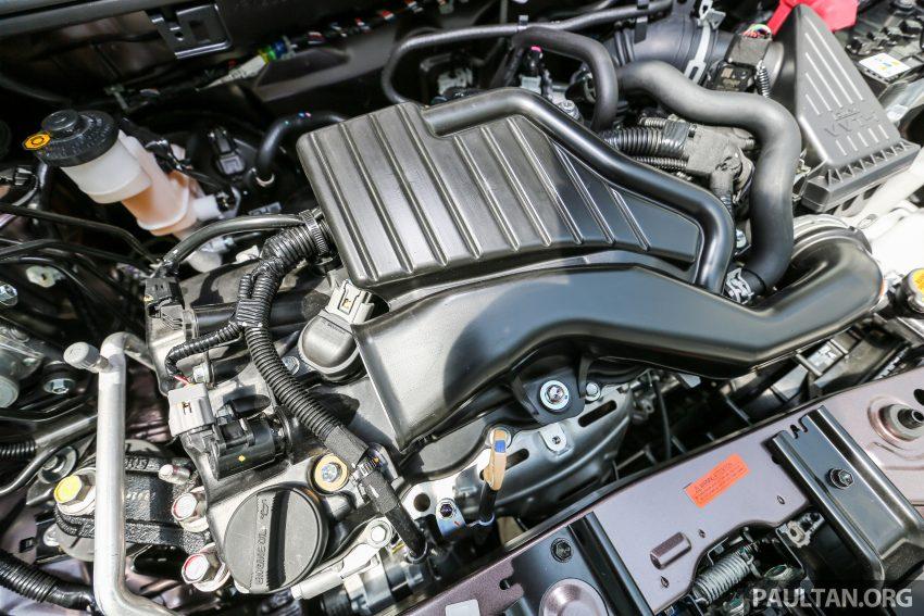 Hai con số tương ứng của động cơ 4 xy-lanh, dung tích 1,3 lít là 94 mã lực tại vòng tua máy 6.000 vòng/phút và 121 Nm tại vòng tua máy 4.000 vòng/phút. Đây là động cơ được dùng cho cả Toyota Avanza và Daihatsu Xenia tại thị trường Indonesia.