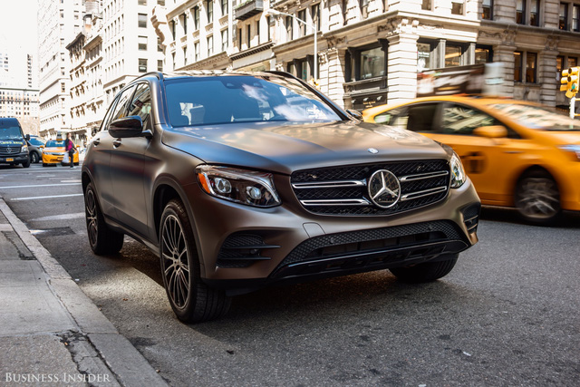 Mercedes-Benz GLC. Ảnh: Hollis Johnson/BI.