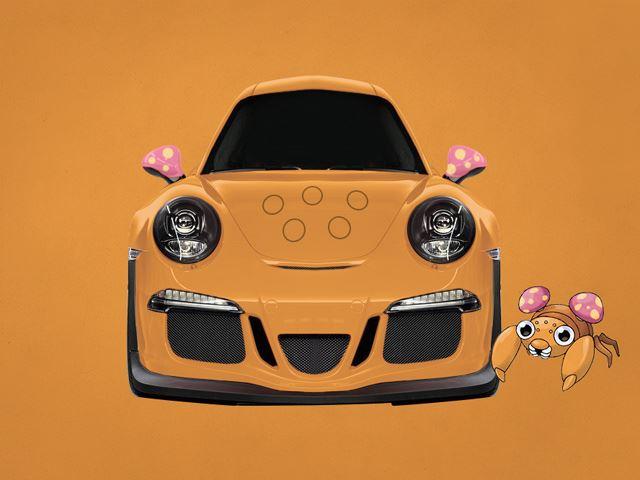 Porsche 911 Parerras: Khi xe thể thao của Đức khoác lên mình nước sơn của chú cua ngang bướng trong Pokemon.
