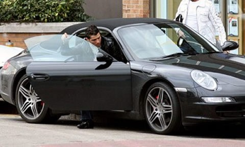 Trước đó CR7 từng sở hữu một chiếc Porsche 911 Carrera 2S Cabriolet.