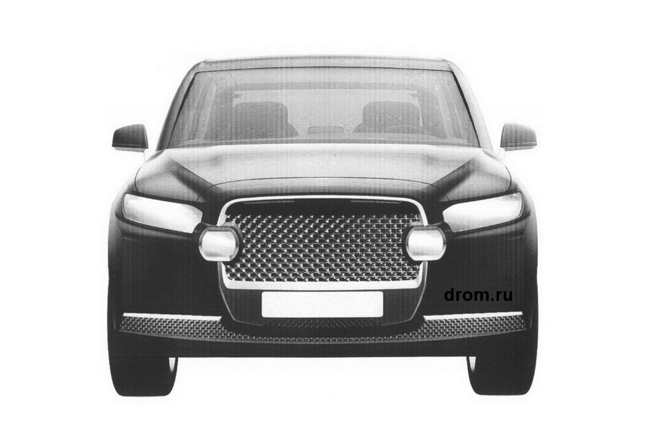 Dự án nhà nước Cortege phát triển cả xe SUV chuyên dụng.