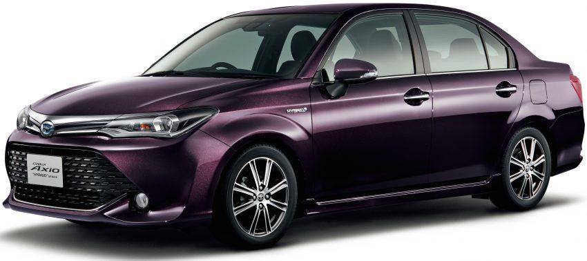 Toyota Corolla Axio 50th Anniversary từng ra mắt vào hồi tháng 5 vừa qua.