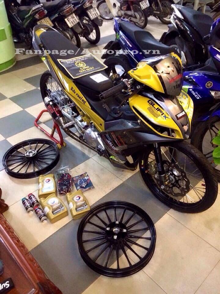 Ngắm Yamaha Exciter 135 độ hàng hiệu có trị giá 50 triệu của biker Gia Lai 2