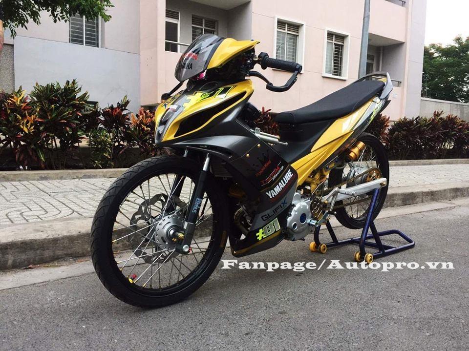 Ngắm Yamaha Exciter 135 độ hàng hiệu có trị giá 50 triệu của biker Gia Lai 4