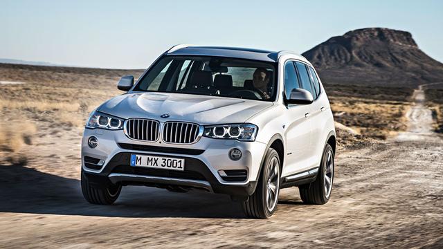 &lt;br /&gt;<br /> BMW X3 phiên bản hiện hành.&lt;br /&gt;<br />