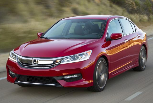 6. Honda Accord: 355.557 chiếc