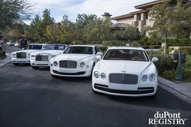 Bốn chiếc xe siêu sang trong bộ sưu tập của Floyd Mayweather.