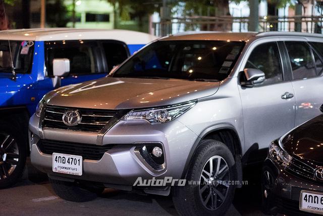 ' Fortuner thế hệ mới chưa được Toyota Việt Nam đưa về nước. '