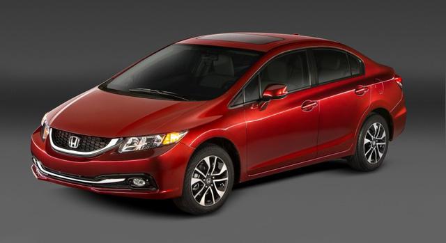 8. Honda Civic (thế hệ cũ): 335.384 chiếc