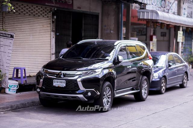 ' Mitsubishi Pajero Sport thế hệ mới tại Thái Lan. '