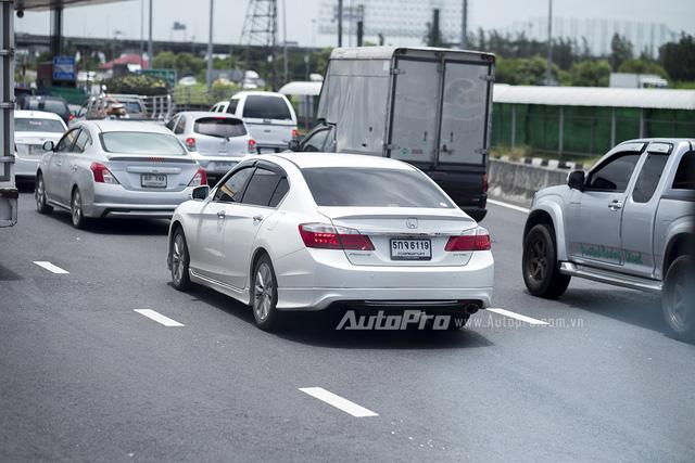 ' Honda Accord được nhiều người ưa chuộng tại Thái Lan nhưng không gây được tiếng vang ở Việt Nam. '