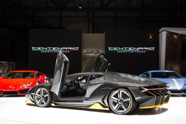 Lamborghini Centenario trong triển lãm Geneva 2016