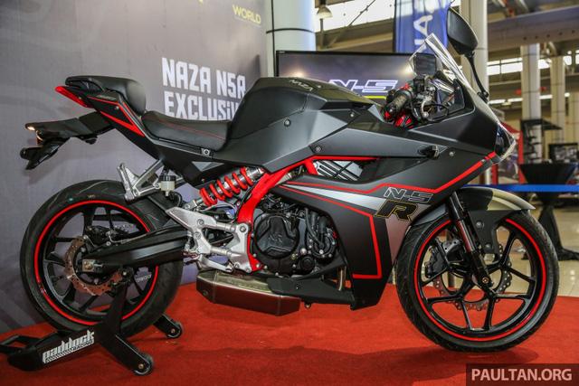 Xe mới Naza N5R 2016 mẫu mô tô thể thao phân khối nhỏ tại Malaysia 11