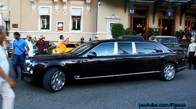 Bentley Mulsanne Grand Limousine của Tiểu vương Qatar