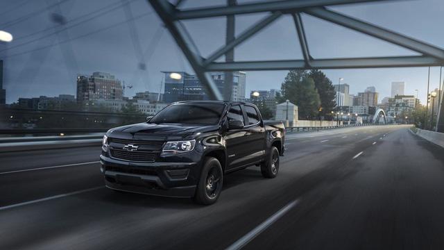 Chevrolet nâng cấp động cơ mạnh hơn cho Colorado 2017