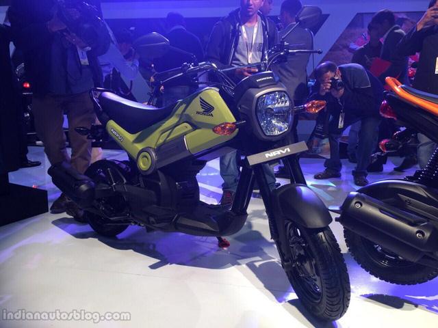 Chi nhánh sản xuất mô tô và xe ga của Honda tại Ấn Độ đã chính thức tung ra tân binh có tên Navi trong triển lãm Auto Expo 2016 hiện đang diễn ra tại Ấn Độ đúng như tin đồn trước đó. Hãng Honda khẳng định Navi sẽ mang đến sự thú vị cho phân khúc.