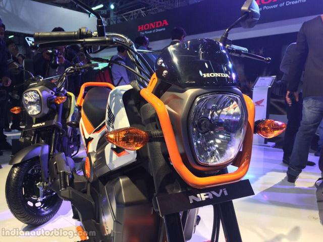 Honda Navi sở hữu chiều dài tổng thể 1.805 mm, chiều rộng 748 mm, chiều cao 1.039 mm và chiều dài cơ sở 1.286 mm. Ngoài ra, Honda Navi còn có chiều cao gầm 156 mm, chiều cao yên 765 mm, trọng lượng 101 kg và dung tích bình xăng 3,8 lít.