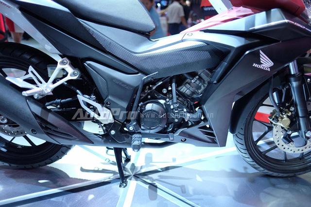 Honda Winner 150 được trang bị động cơ 149,1 cc với công suất tối đa 15,4 mã lực và mô-men xoắn cực đại 13,5 Nm.