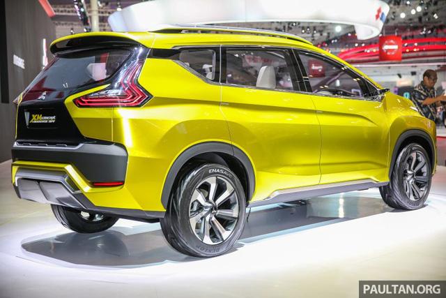 Cận cảnh xe Mitsubishi XM mẫu MPV mới sắp ra mắt thị trường 2