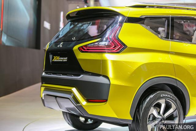 Cận cảnh xe Mitsubishi XM mẫu MPV mới sắp ra mắt thị trường 8