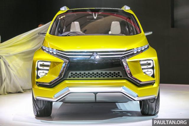 Cận cảnh xe Mitsubishi XM mẫu MPV mới sắp ra mắt thị trường 1
