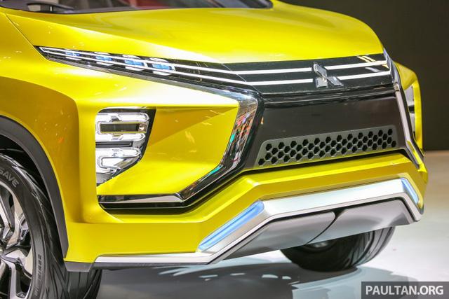 Cận cảnh xe Mitsubishi XM mẫu MPV mới sắp ra mắt thị trường 4