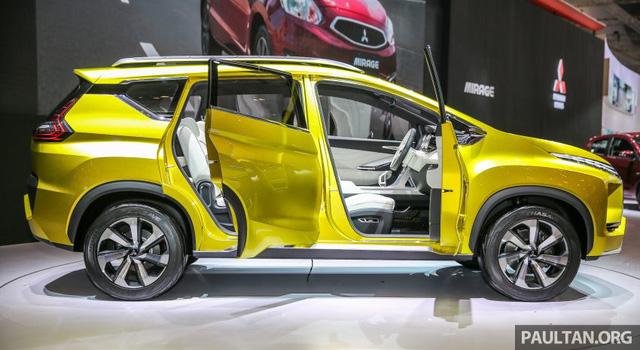 Cận cảnh xe Mitsubishi XM mẫu MPV mới sắp ra mắt thị trường 3