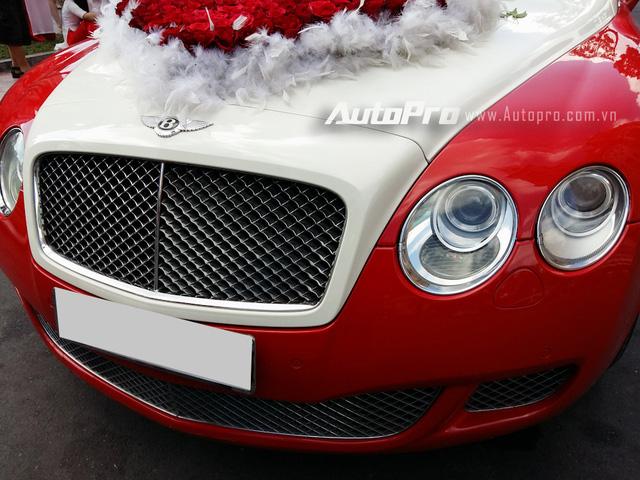 Bentley Continental GT Speed sở hữu kiểu dáng khá giống phiên bản tiêu chuẩn, ngoại trừ hốc gió trước được chia làm 3 phần riêng biệt. Trong đó, 2 hốc gió bên hông được thu nhỏ lại. Riêng ốc gió giữa được mở rộng ra đáng kể.