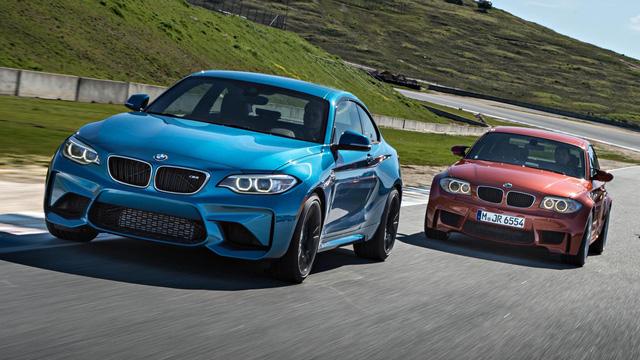 Sản xuất không giới hạn: Nếu như 1-Series M Coupe ban đầu được giới hạn sản xuất 2.700 chiếc/năm, nhưng khi đối mặt với nhu cầu của thị trường, BMW cuối cùng đã sản xuất hơn gấp đôi. Thế nên, BMW M2 có thể được sản xuất không giới hạn với hơn 10.000 chiếc/năm.