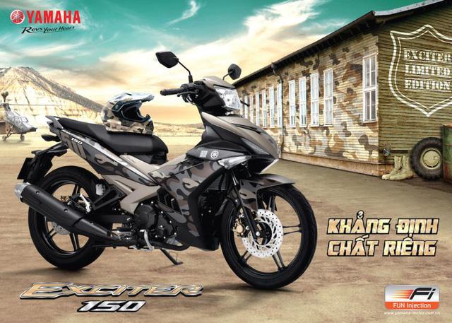 Yamaha Exciter 150 Camo mới...