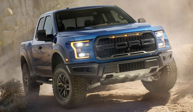1. Ford F-Series: 780.354 chiếc