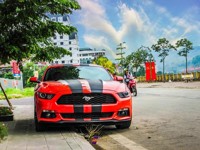 Tay chơi Lào Cai chi thêm 250 triệu Đồng cho bản độ Ford Mustang 2015 độc nhất Việt Nam - Ảnh 2.