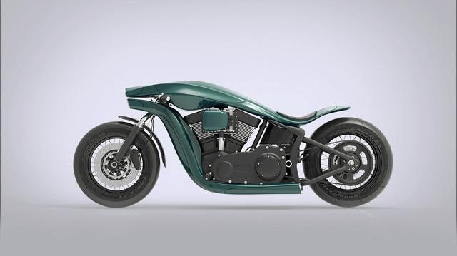 Dáng ngồi của người lái có thể sẽ là điểm mà Harley-Davidson sẽ phải nghiên cứu lại đối với bản thiết kế từ Jever.