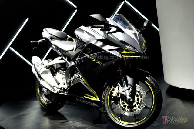 Phiên bản màu đen vàng chanh. Honda CBR250RR 2016 có hai lựa chọn phiên bản là có và không có ABS cùng mức giá chênh lệch khoảng 10 triệu Đồng tại Indonesia. Bản tiêu chuẩn có giá từ 106 triệu Đồng và bản có trang bị ABS có giá từ 117 triệu Đồng tại quốc đảo này.