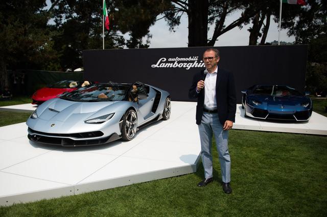 Tại lễ hội, đại diện Lamborghini cho biết 20 chiếc Lamborghini Centenario mui trần đều đã được đặt hàng với mức giá khoảng 2 triệu USD (đã bao gồm thuế).