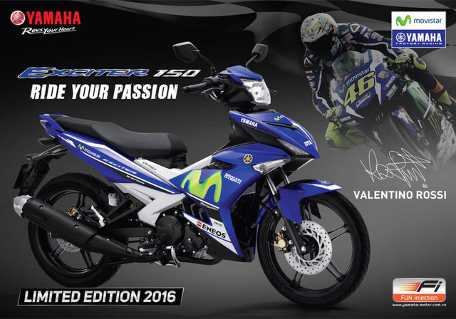 Yamaha Exciter 150 Movistar mới...