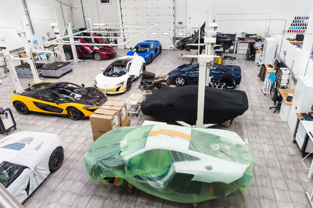 Bên trong xưởng sản xuất đặc biệt của McLaren