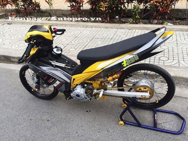 Ngắm Yamaha Exciter 135 độ hàng hiệu có trị giá 50 triệu của biker Gia Lai 5