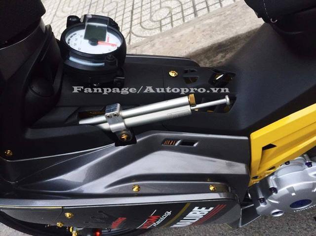 Ngắm Yamaha Exciter 135 độ hàng hiệu có trị giá 50 triệu của biker Gia Lai 7