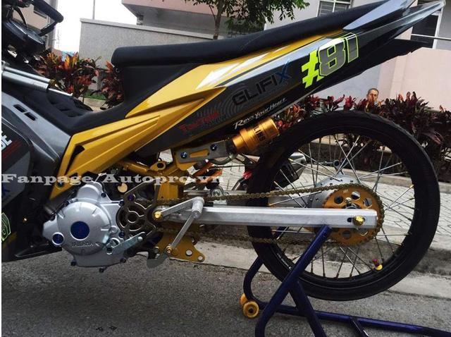 Ngắm Yamaha Exciter 135 độ hàng hiệu có trị giá 50 triệu của biker Gia Lai 9